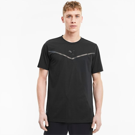 Thermo R+ BND Men's Training Tee, Puma Black, small-SEA