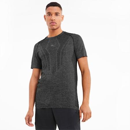 T-shirt d'entraînement à manches courtes evoKNIT pour homme, Puma Black, small