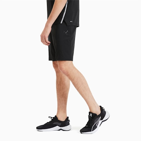 Shorts de entrenamiento Thermo R+ Woven 20 cm para hombre, Puma Black, small