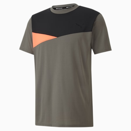 Colour Block dryCELL Men's Training T-Shirt, Ultra Gray, small-IND