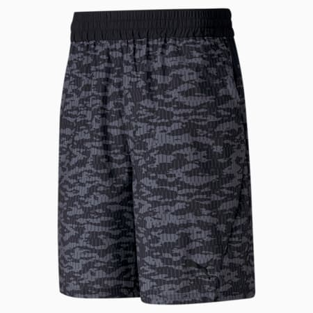 """Printed Woven 8"""" Men's Training Shorts, Puma Black-AOP, small-IND"""