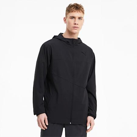 Train Vent Men's Woven Jacket, Puma Black, small