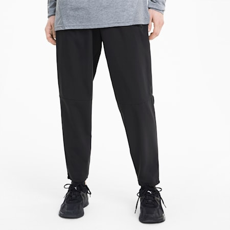 Vent Woven Men's Training Pants, Puma Black, small-SEA
