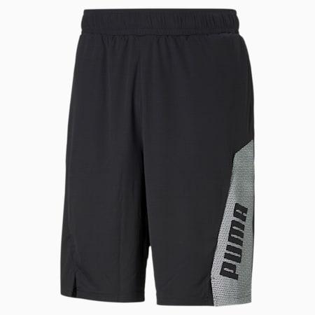 Train Men's Knitted Shorts, Puma Black-Puma White, small