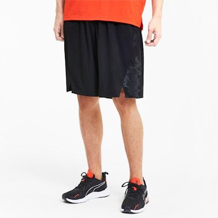 Train Men's Knitted Shorts, Puma Black, small