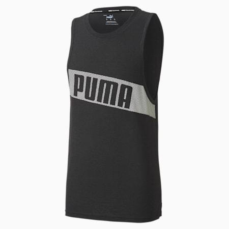 Train Men's Graphic Tank, Puma Black, small
