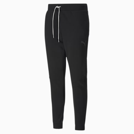 Graphic Knitted Men's Training Pants, Puma Black, small-IND
