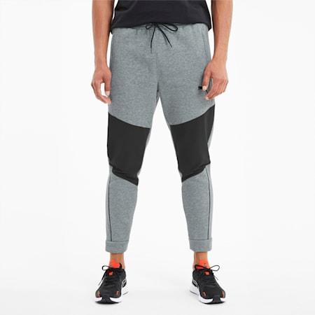 Train Men's Graphic Knit Pants, Medium Gray Heather, small