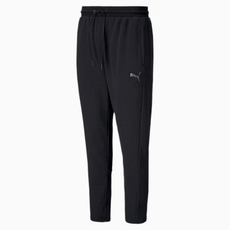Favourite Knitted Men's Training Pants, Puma Black, small-SEA
