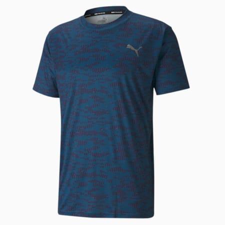 Performance AOP Shirt Sleeves Men's T-Shirt, Digi-blue-Camo AOP, small-IND