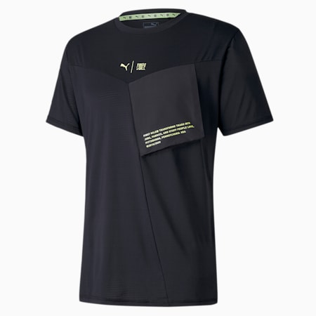 PUMA x FIRST MILE Xtreme Men's Training Tee, Puma Black, small