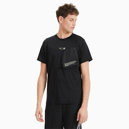 PUMA x FIRST MILE Xtreme trainings-T-shirt voor heren, Puma Black, small