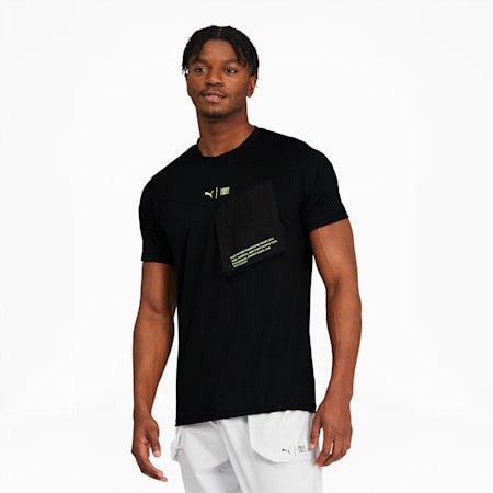 T-shirt d'entraînement PUMA x FIRST MILE Xtreme, homme, Puma Black, petit