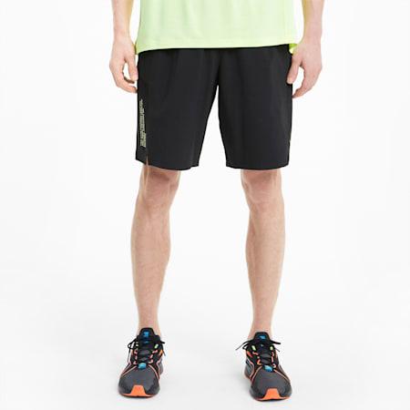 "PUMA x FIRST MILE Xtreme 9"" Men's Training Shorts, Puma Black, small-GBR"