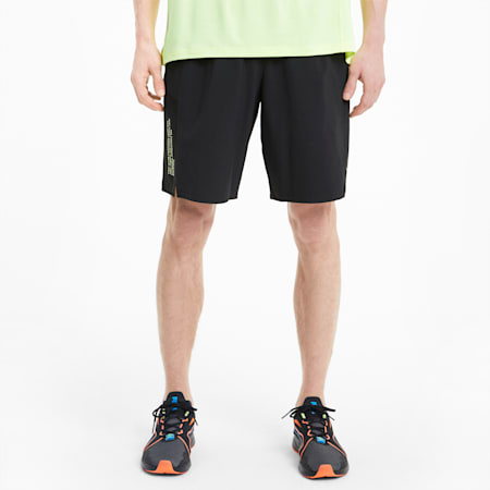 "PUMA x FIRST MILE Xtreme 9"" dryCELL Men's Training Shorts, Puma Black, small-IND"