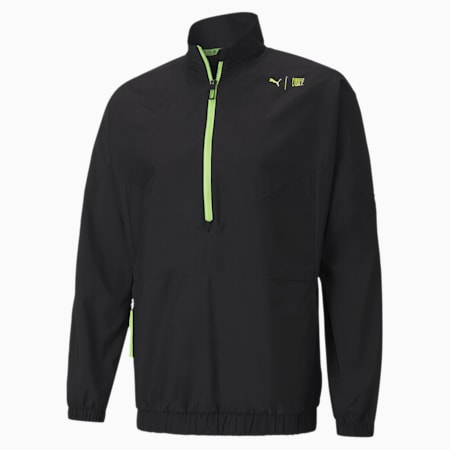 PUMA x FIRST MILE Xtreme Woven Men's Training Jacket, Puma Black, small