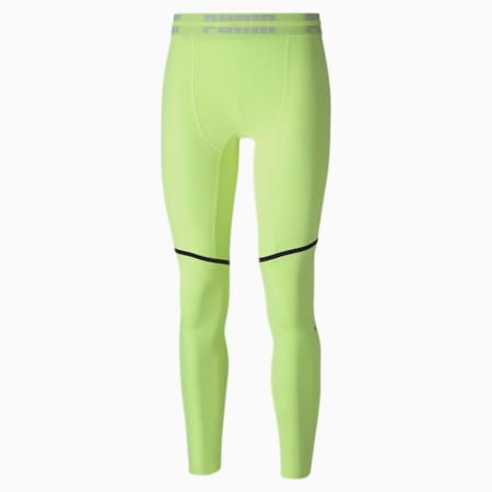 PUMA x FIRST MILE Extreme EXO-ADAPT dryCELL Men's Training Tights, Fizzy Yellow, small-IND