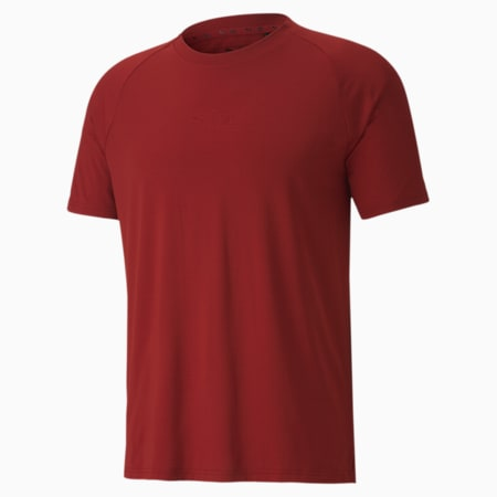 PUMA x FIRST MILE Mono Men's Training Tee, Red Dahlia, small