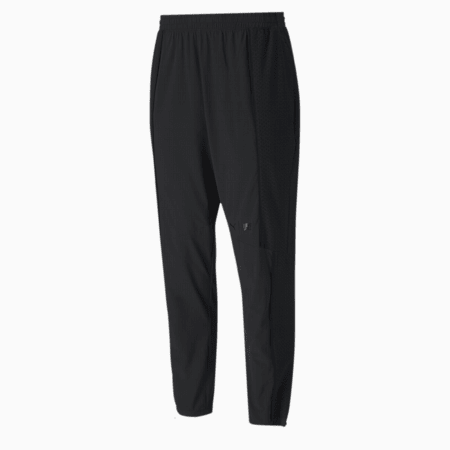First Mile Mono Texture dryCELL Men's Training Pants, Puma Black, small-IND