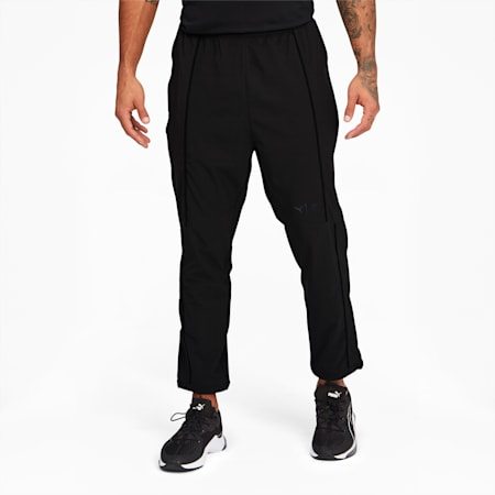 PUMA x FIRST MILE Mono Texture Men's Training Pants, Puma Black, small
