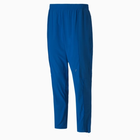 First Mile Mono Texture dryCELL Men's Training Pants, Lapis Blue, small-IND