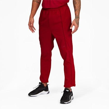 Pantalonsd'entraînement PUMA x FIRST MILE Mono, homme, dahlia rouge, petit