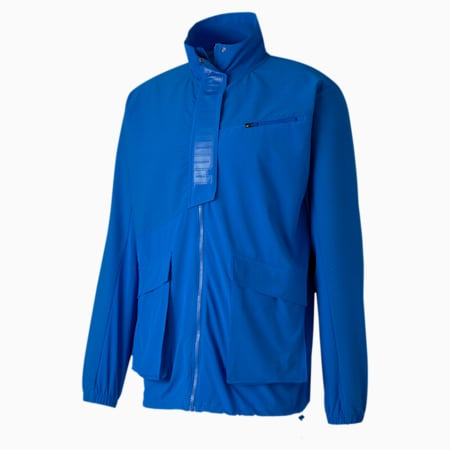First Mile Mono Men's dryCELL Training Jacket, Lapis Blue, small-IND
