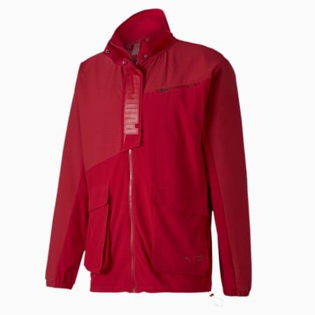 PUMA x FIRST MILE Mono Men's Training Jacket, Red Dahlia, small