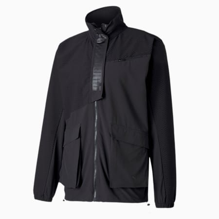 First Mile Mono Men's dryCELL Training Jacket, Puma Black, small-IND