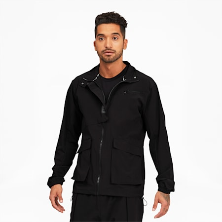 PUMA x FIRST MILE Mono Men's Training Jacket, Puma Black, small