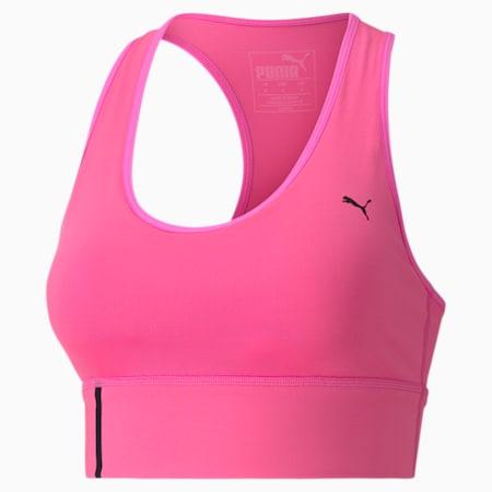 미드 임팩트 브라/Mid Impact Long Line Bra, Luminous Pink, small-KOR