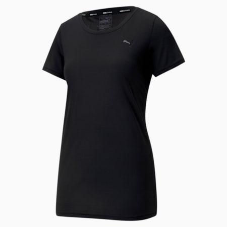 Studio Lace Keyhole dryCELL Women's Training T-Shirt, Puma Black, small-IND