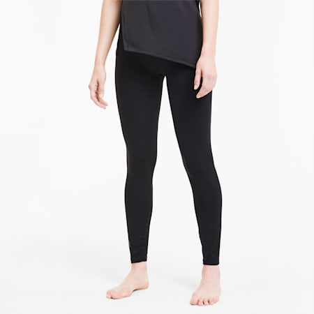 Studio Lace Women's High Waist 7/8 Leggings, Puma Black, small