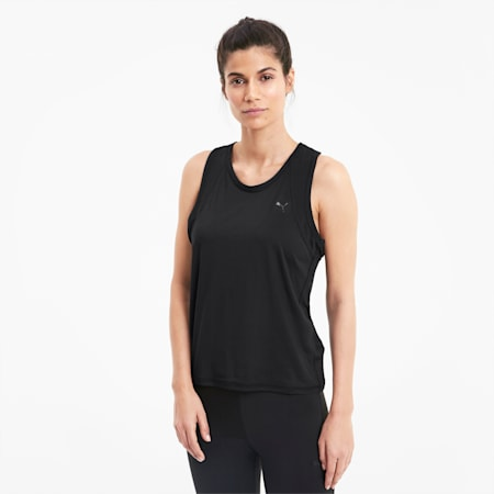 Favourite Racerback Women's Training Tank Top, Puma Black, small-IND