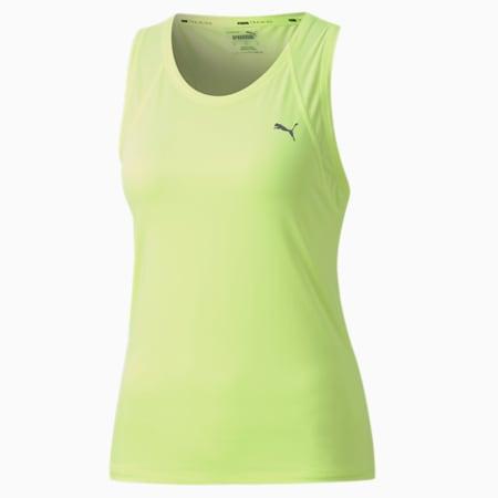 Favourite Racerback Women's Training Tank Top, Fizzy Yellow, small-SEA