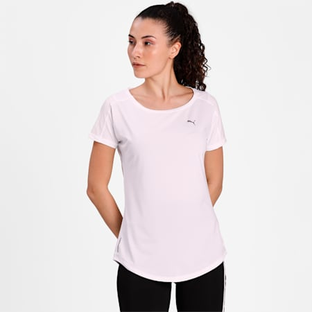 Favourite dryCELL Women's Training T-Shirt, Puma White, small-IND