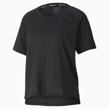 Studio dryCELL Relaxed Fit Women's T-Shirt, Puma Black, small-IND
