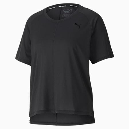 스튜디오 릴렉스 반팔 티셔츠, Puma Black, small-KOR