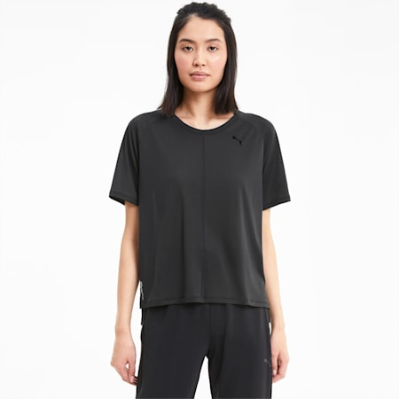 Studio dryCELL Women's Relaxed T-Shirt, Puma Black, small-IND