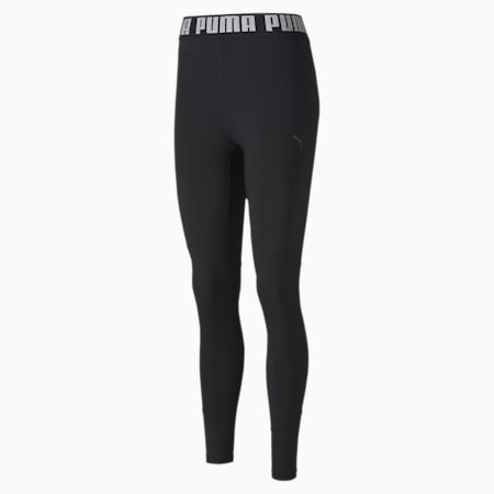 Favourite Elastic 7/8 Women's Training Leggings, Puma Black, small-SEA