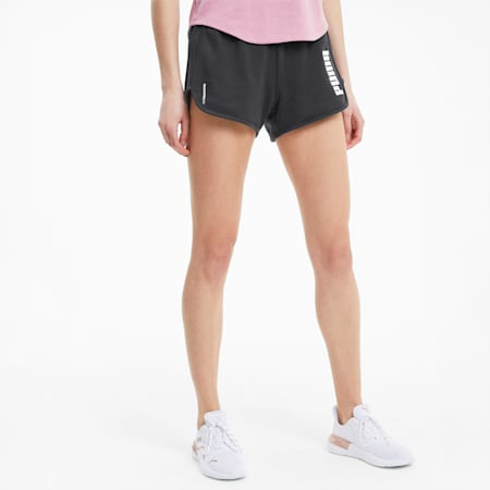 Favourite Fleece Women's Training Shorts, Puma Black, small-IND