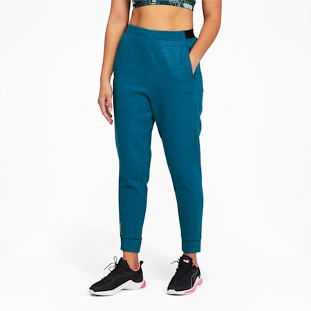 Train Favorite Women's Fleece Joggers, Digi-blue, small
