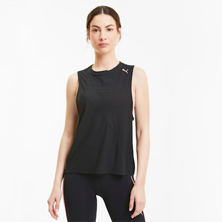 Train Pearl Women's Mesh Tank, Puma Black, small