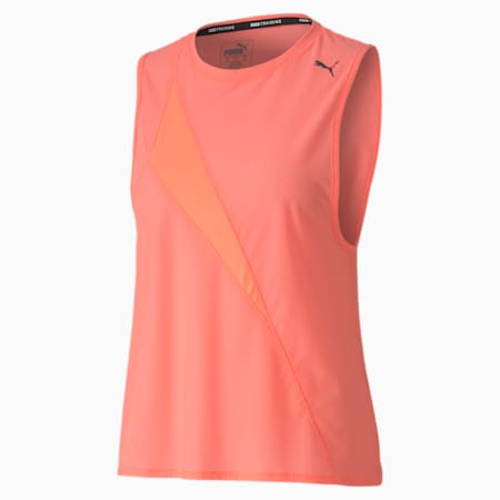 Pearl Mesh dryCELL Women's Training Tank Top, Nrgy Peach, small-IND
