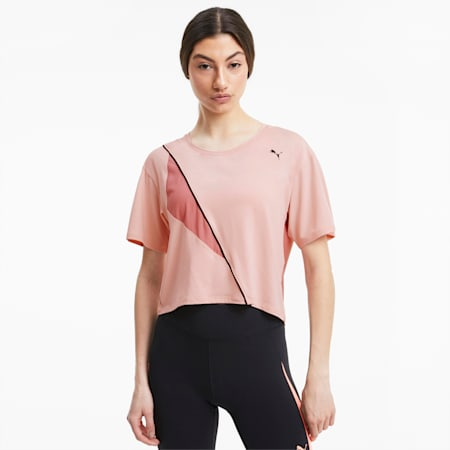 Pearl dryCELL Women's Training T-Shirt, Peachskin, small-IND