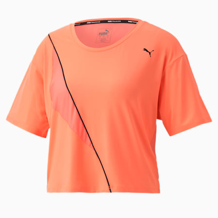 Pearl dryCELL Women's Training T-Shirt, Nrgy Peach, small-IND