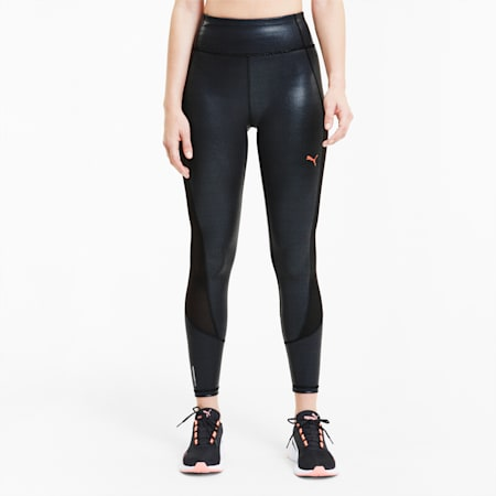 Train Pearl High Waist Women's 7/8 Leggings, Puma Black, small