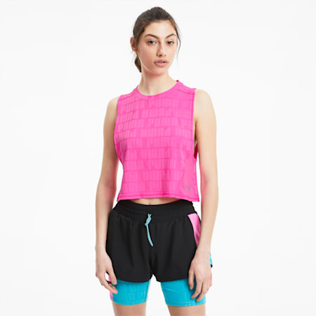 PUMA x FIRST MILE Xtreme trainingstanktop voor dames, Luminous Pink, small