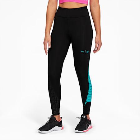 PUMA x FIRST MILE Xtreme Women's 7/8 Training Leggings, Puma Black, small