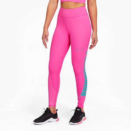 PUMA x FIRST MILE Xtreme Women's 7/8 Training Leggings, Luminous Pink, small